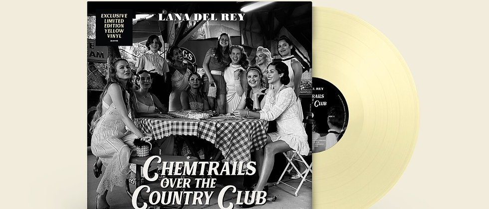 Land Del Ray - Chemtrails Over The Country Club (Black and Indie Only Release)