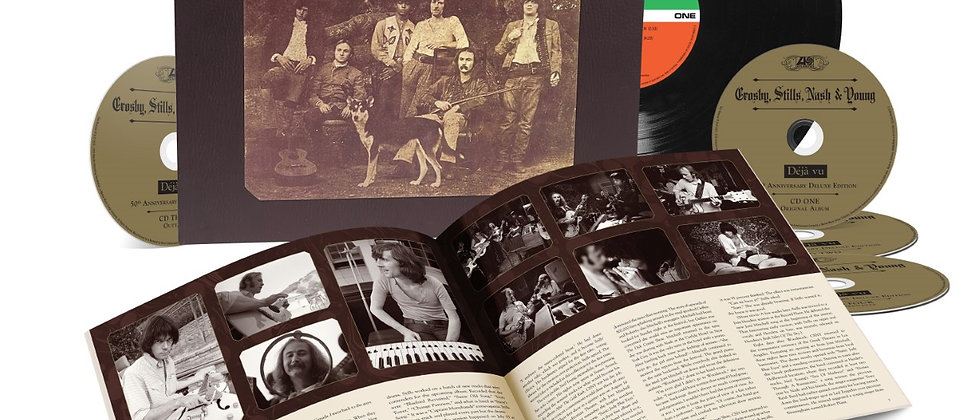 Crosby, Stills, Nash & Young - DeJa Vu 50th Anniversary deluxe edit