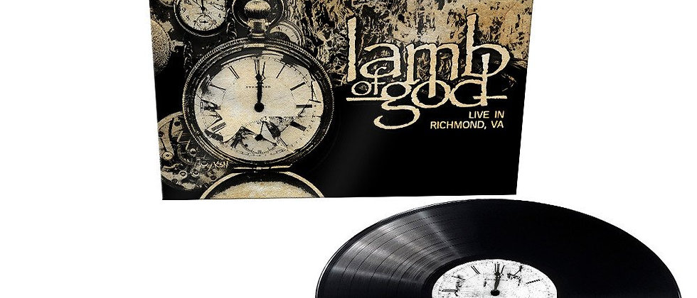 Lamb Of God - Live In Richmond (Very limited vinyl issue)