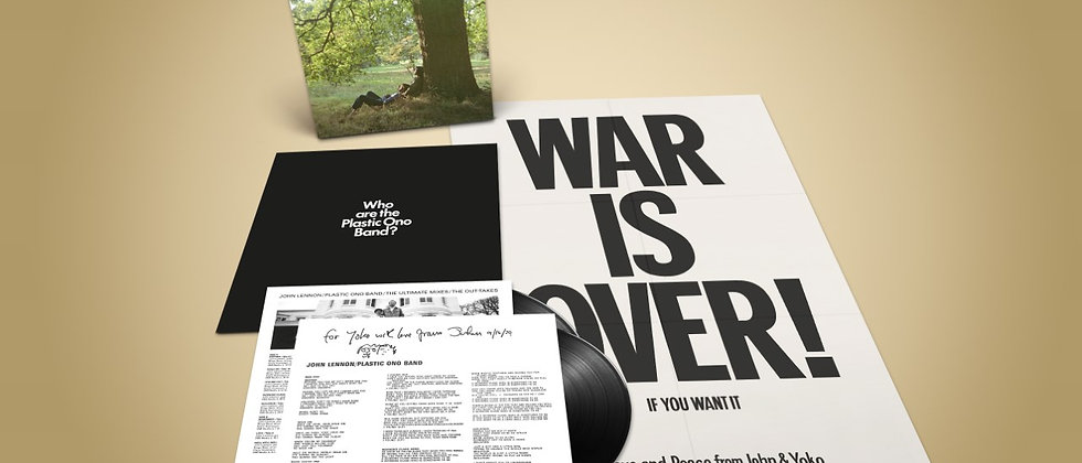 John Lennon - Plastic Ono Band ( The 2LP is a very limited release)