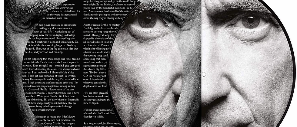 Phil Collins - Face Value (Picture Disc)