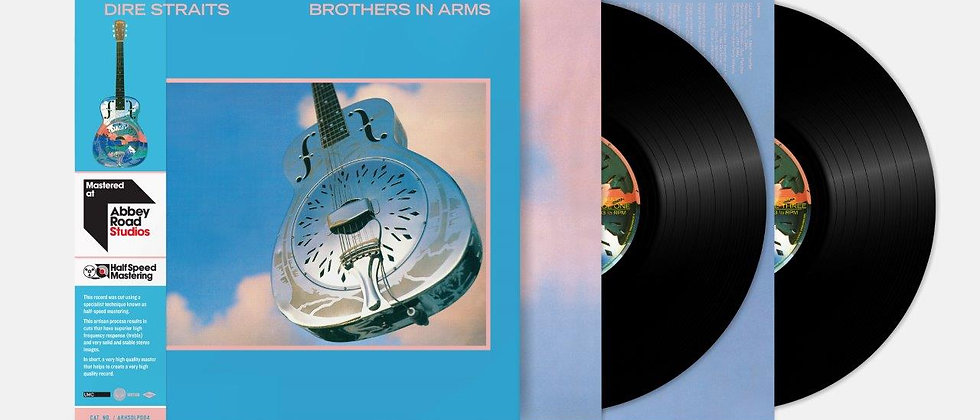 Dire Straits - Brother In Arms (Half Speed Re-master edit)