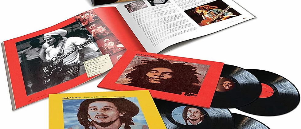Bob Marley - Songs Of Freedom(Island Records - Deluxe Box set)