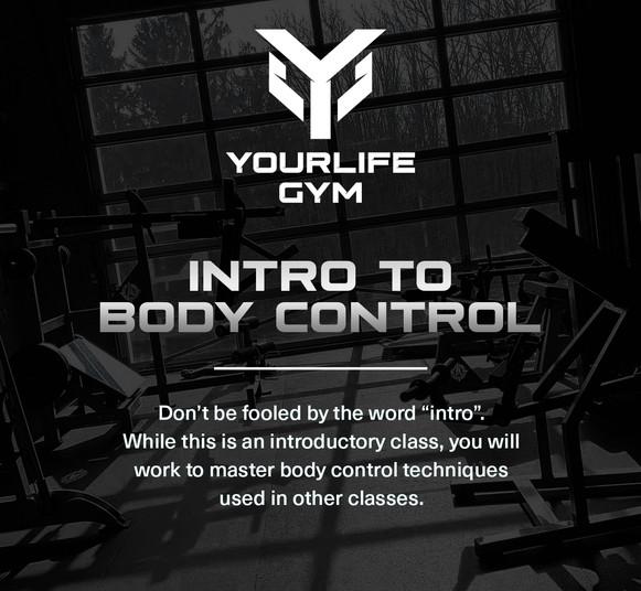 Intro to Body Control