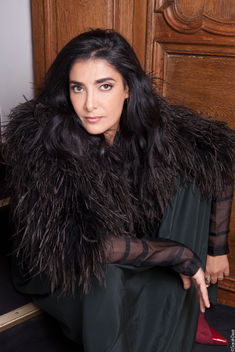 Portrait Actrice Fatima Adoum pour Amilcar Magazine