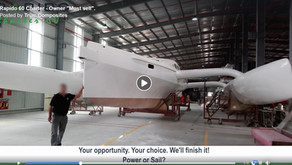 "Video: Owner ""must sell"" Rapido 60 Charter"
