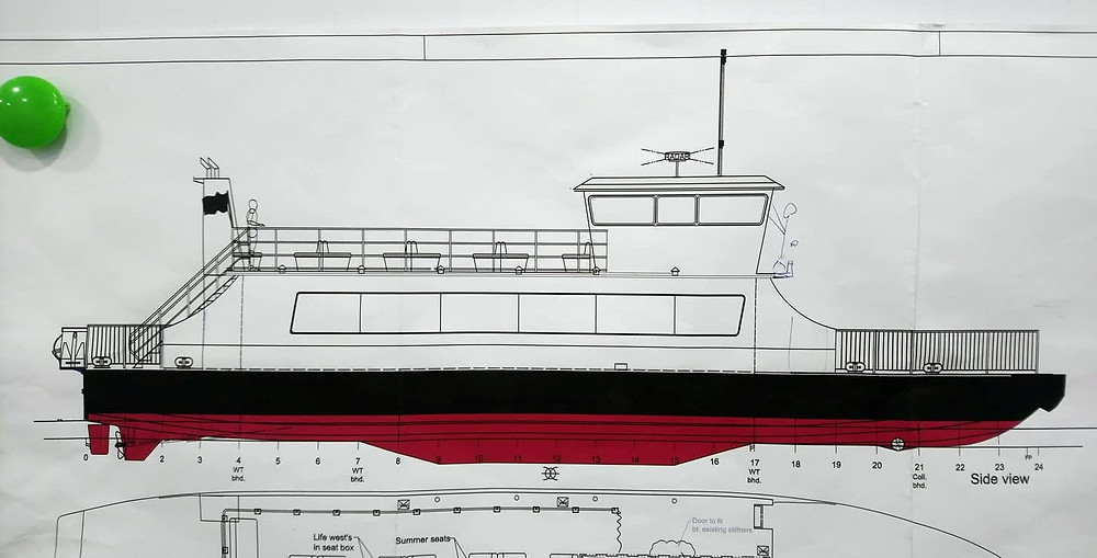 Triac Composites built superstructures and bench seats for three 24m ferries for a Scandinavian customer.
