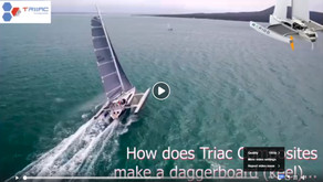 Video: Making of a daggerboard for a Rapido 60