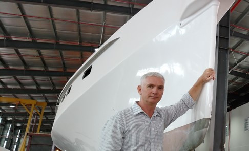 Triac Composites' General Manager, Phil Johns