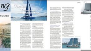 "SEA Yachting magazine publishes article: ""Rapido enters power cat market"""