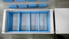 Composite battery boxes for fishing trawler
