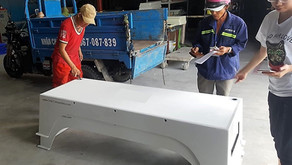Swimming platforms delivered to international swimming school