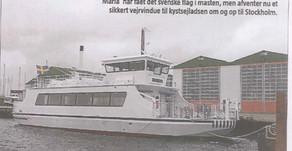 Danish newspaper reports on Triac ferries