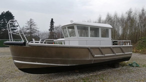 Composite wheelhouses shipped to Europe