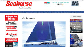 Seahorse magazine profiles Rapido Trimarans, October 2019