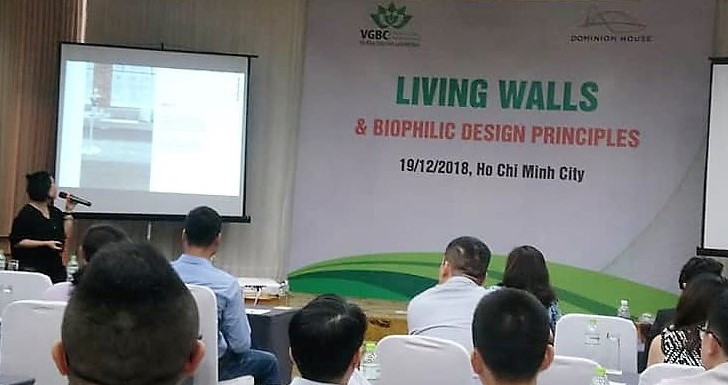 Vietnam Green Buildings Council seminar, HCMC, 19 December 2018.