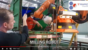 Video: Triac's game-changing KUKA robot arrives