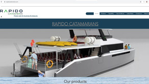 New website launched for Rapido Catamarans
