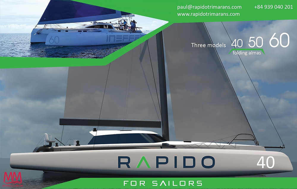 Rapido Trimarans. For Sailors.