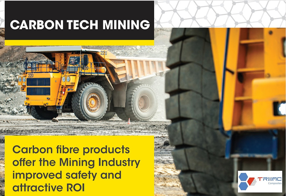 Triac Composites and Rivers Carbon have announced details of their new Joint Venture, Carbon Tech Mining.