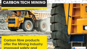 PRESS RELEASE – Mining Industry Targeted with Launch of Carbon Fiber Products for Mining Industry