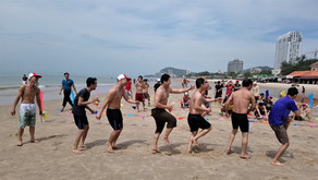 Triac Composites' staff join team-building trip, Vung Tau