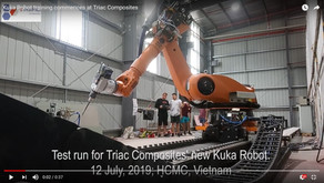 Video: Training commences on new KUKA Robot