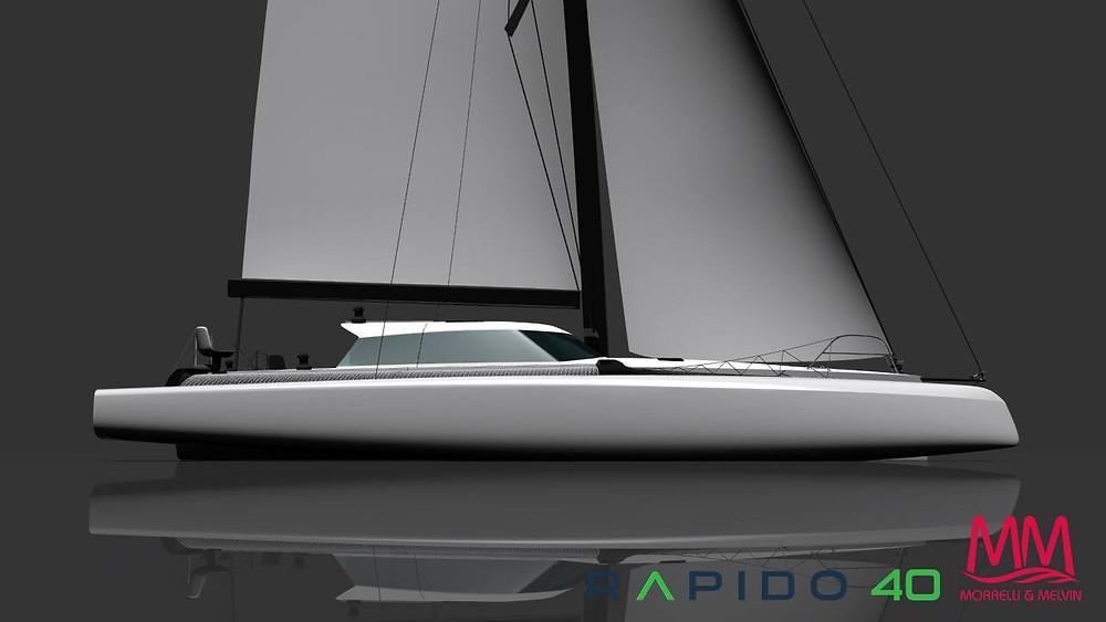 Rapido Trimarans' new Rapido 40, designed by Morrelli & Melvin.