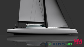 Design of new Rapido 40, by Morrelli & Melvin, unveiled