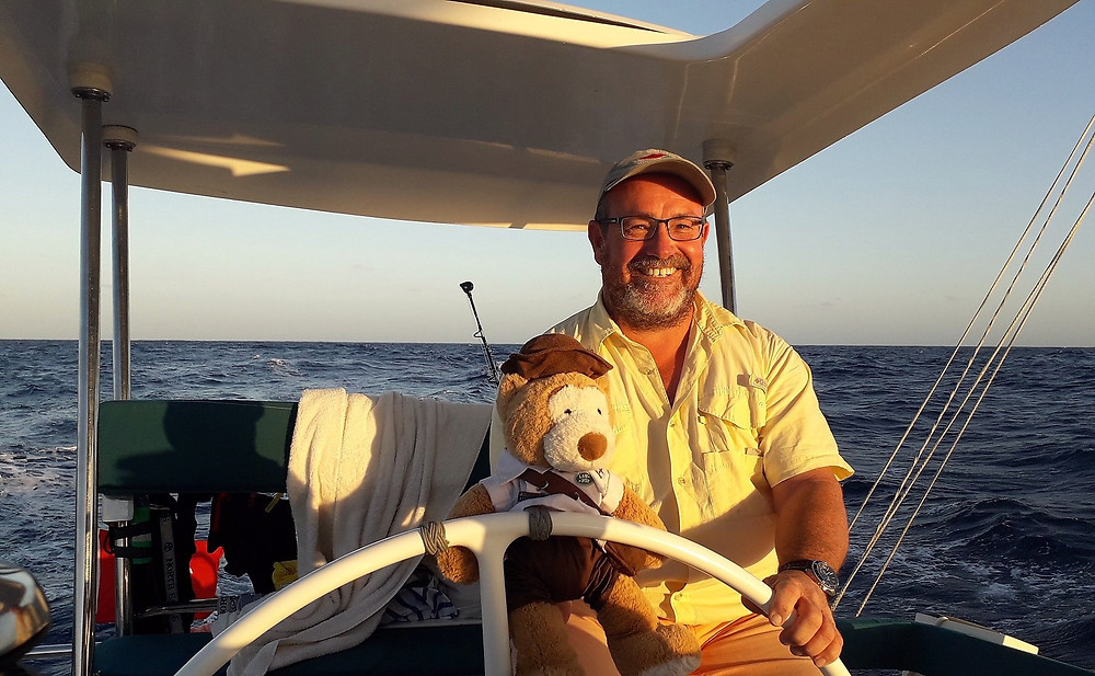 "Mark Haswell: ""Great boat. Great trip. Great crew."""