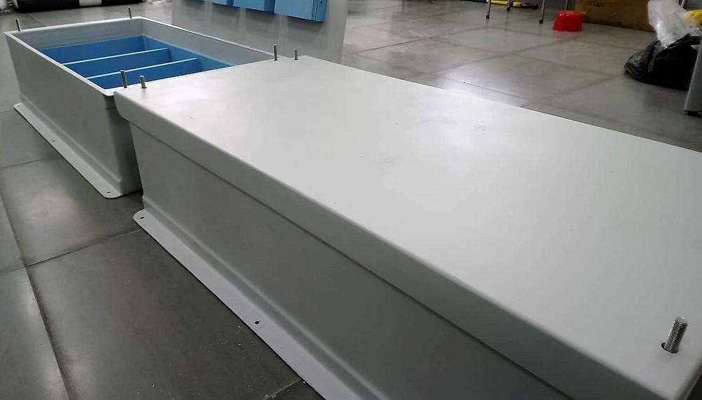 Composite battery box, Triac Composites