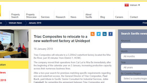 Triac Composites to relocate to a new waterfront factory at Unidepot, reports Savills