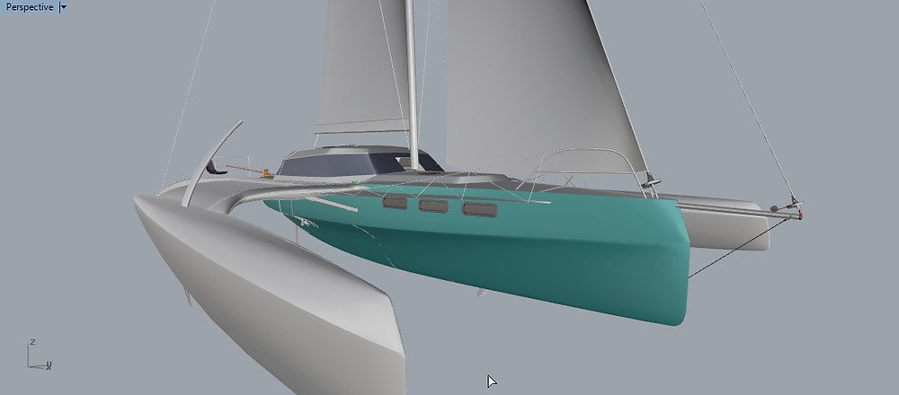 The Rapido 40, designed by Morrelli & Melvin. Due to be launched in mid 2020.