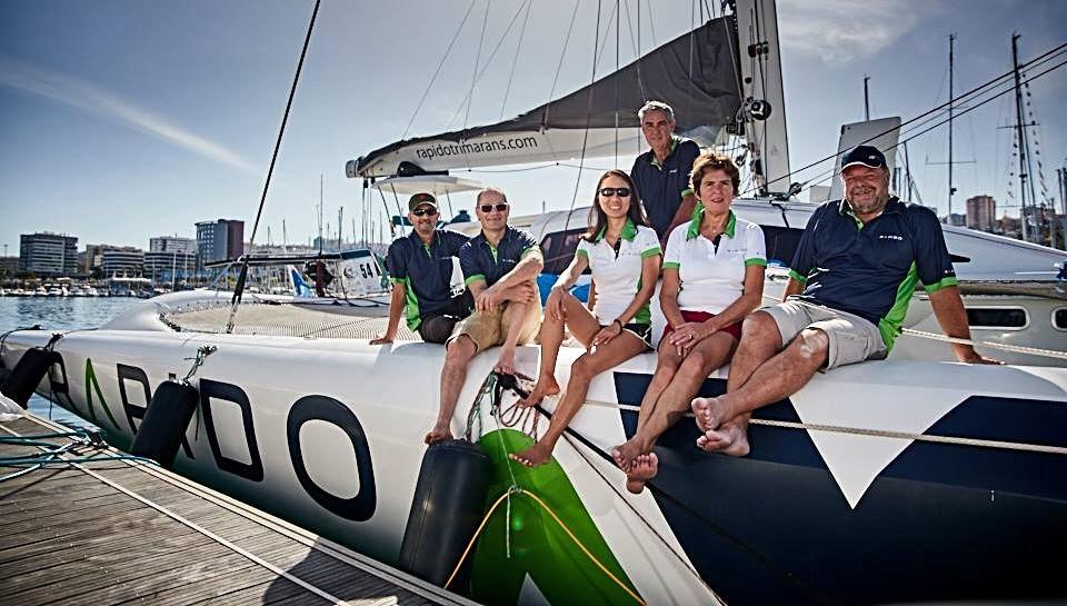 Paul Koch, Rapido Trimarans, Triac Composites, Hamilton Island Race Week, Airlie Beach