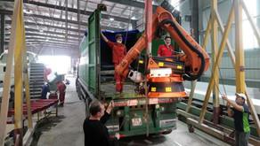 Kuka robot arrives at Triac Composites' factory