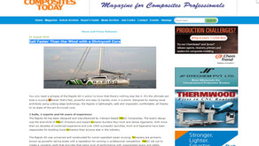 Sail faster than the wind with a Divinycell Core (by Triac Composites), reports Composites Today