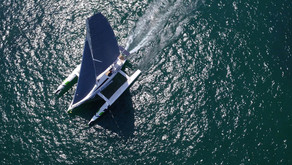 """MEDIA RELEASE: Vietnam-built sailing boat voted """"3rd Best in World"""" at French Boat Show"""