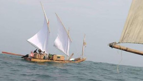 Seven Vietnamese skirt country's coast on bamboo rafts, reports Tuoi Tre News