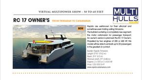 Multihulls World magazine on RC17 Owner's