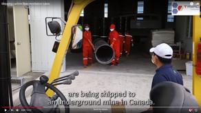 Video: carbon fiber tubes for Canada