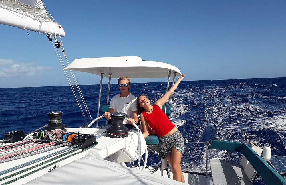 Crossing the Atlantic; from the Canary Islands to St Lucia, Caribbean.