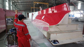 Updated photos of Rapido 50 in factory