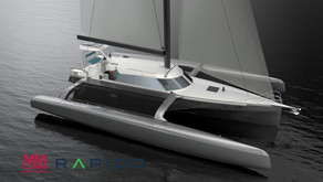 Video: New renderings of Rapido 50 Folding Trimaran - built by Triac