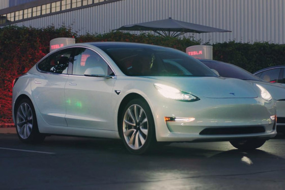 Tesla Model 3 to start at £38,900 in UK