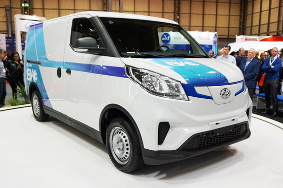 New LDV EV30 small electric van uncovered at CV Show