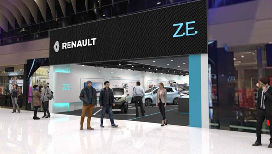 Renault electric car concept store to open in Stockholm