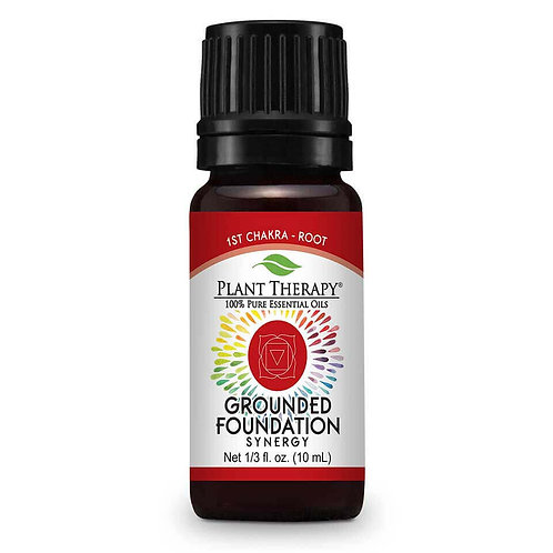 Plant Therapy Grounded Foundation (Root Chakra) Essential Oil