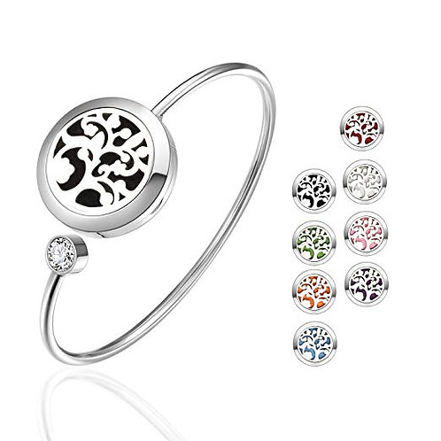 Aromatherapy Diffuser Bracelet - Tree of Life for essential oils