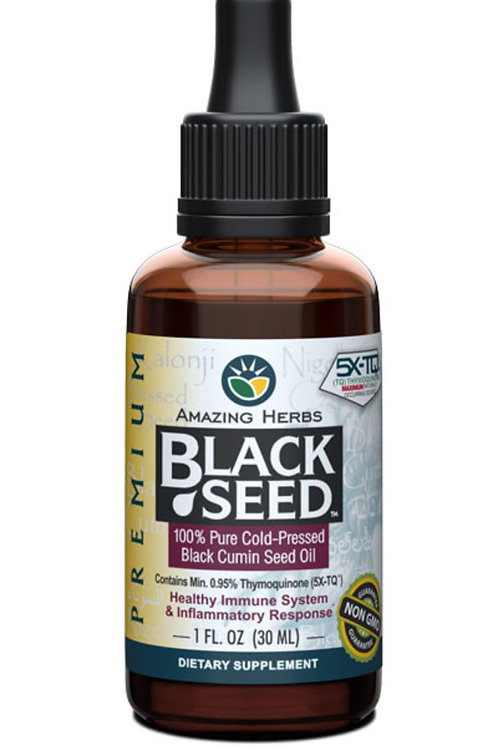 Amazing Herbs Premium Black Seed Oil 30ml