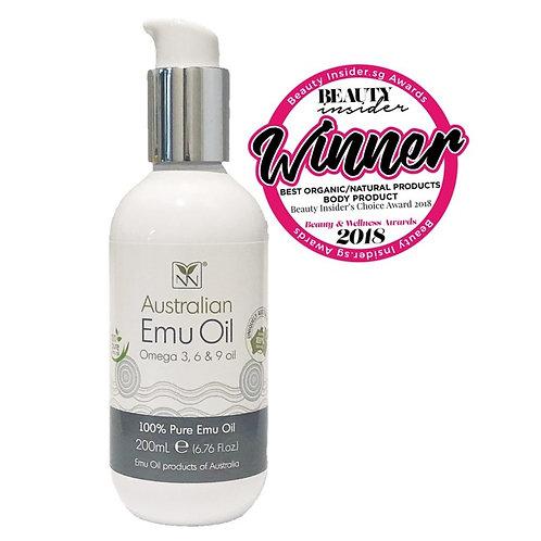 Y-Not Natural Australian Emu Oil Omega 3-6-9 (200ml)